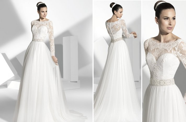 2013 wedding dress Franc Sarabia bridal gowns Spanish designers 19
