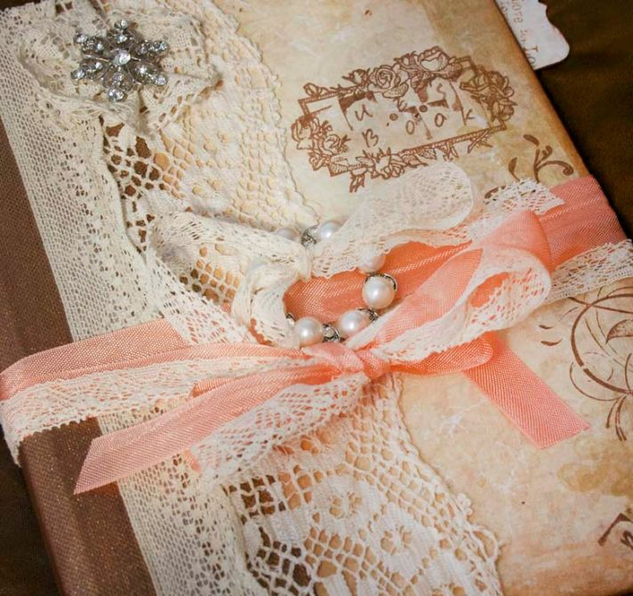 peaches and cream wedding color palette romantic weddings vintage invitations