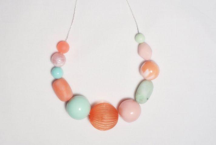 peaches and cream wedding color palette romantic weddings bridesmaid gift