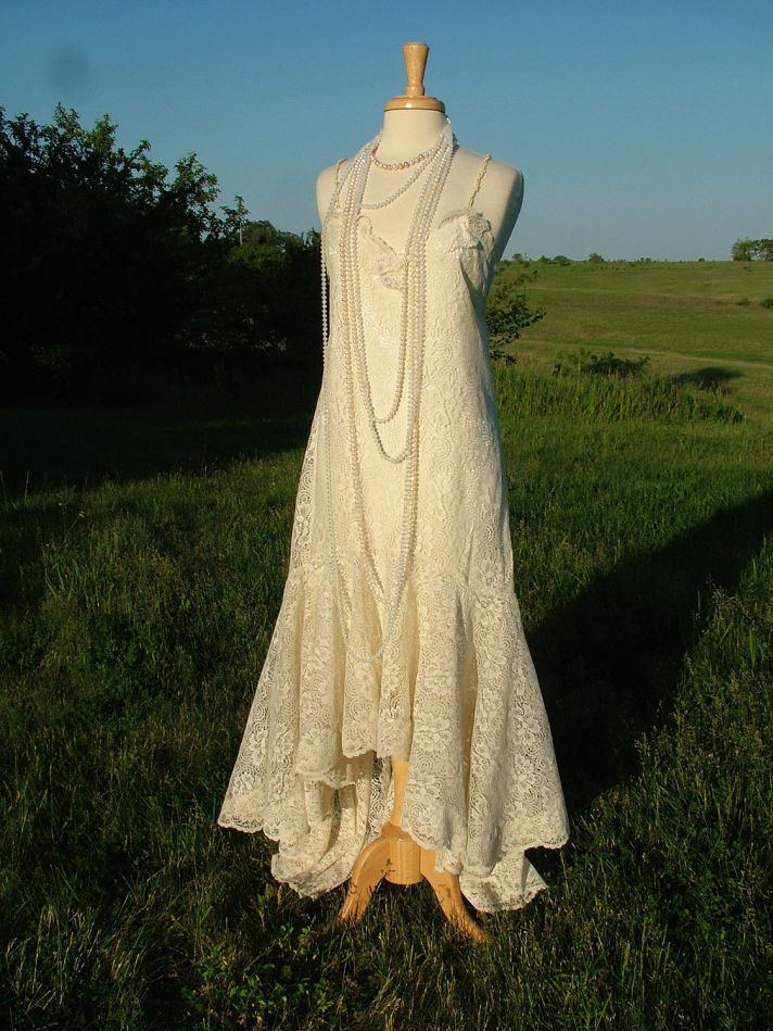 vintage wedding dress bridal gown inspiration from Etsy 4