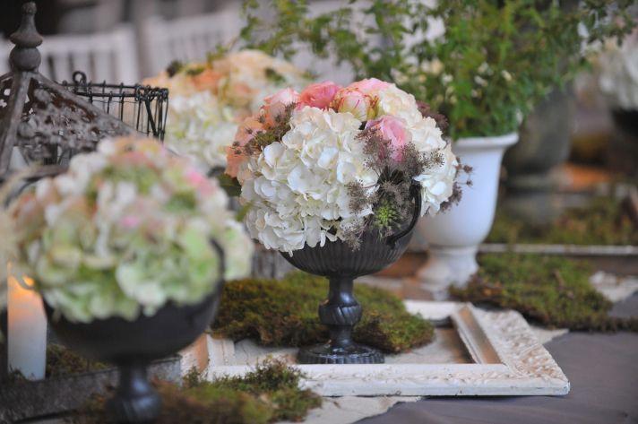 elegant real wedding North Carolina wedding photographers romantic centerpieces