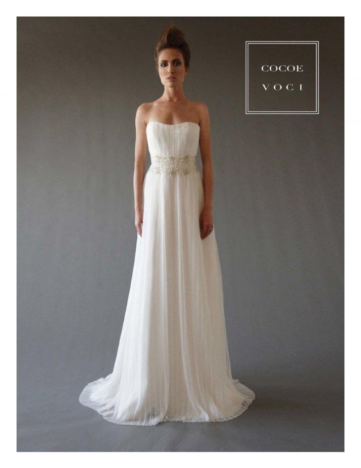 fall 2012 wedding dress Cocoe Voci bridal gowns 8