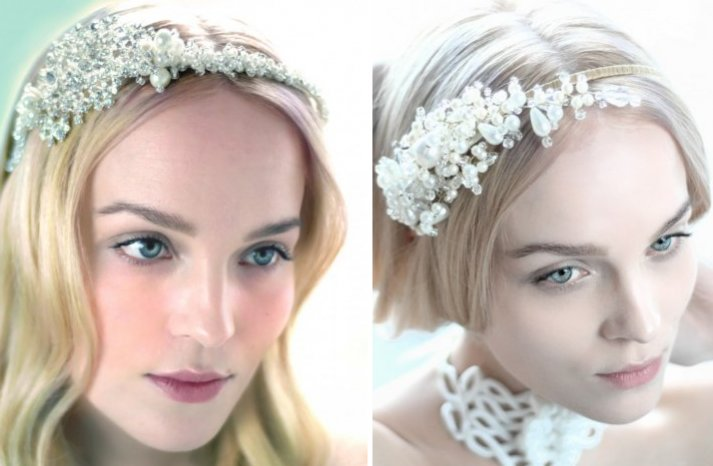 beautiful bridal accessories wedding hair pieces Parant Parant 3