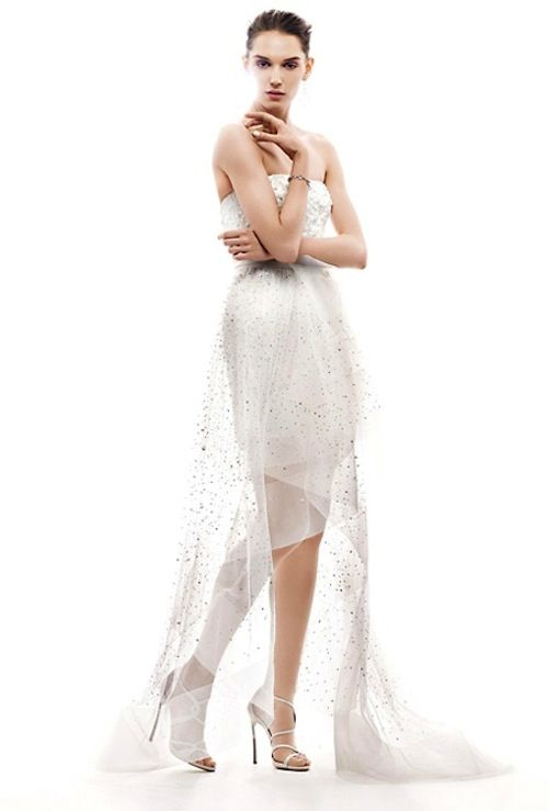 two in one wedding dress 2013 bridal gowns Reem Acra