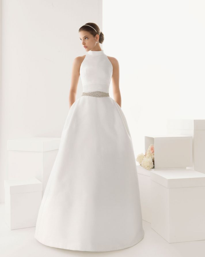 transforming wedding dresses 2013 bridal gown by Rosa Clara 5