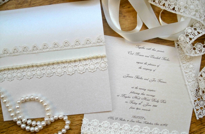 pearl wedding accessories handmade Etsy wedding finds elegant invitations 1