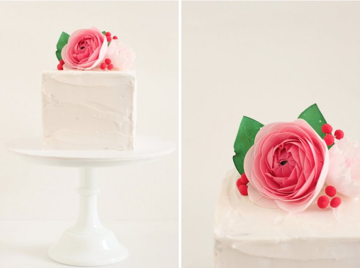 simple wedding cakes suggested by Brooklyn Bride 1