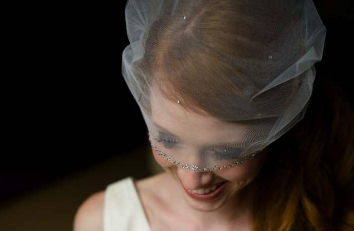 tulle wedding accessories for romantic brides from Etsy swarovski encrusted
