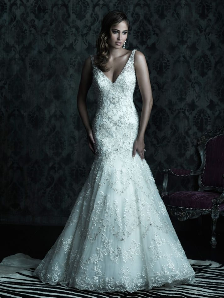 2013 wedding dress Allure Couture bridal gowns c230 1