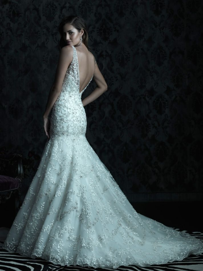 Allure Couture for Your White Aisle Walk