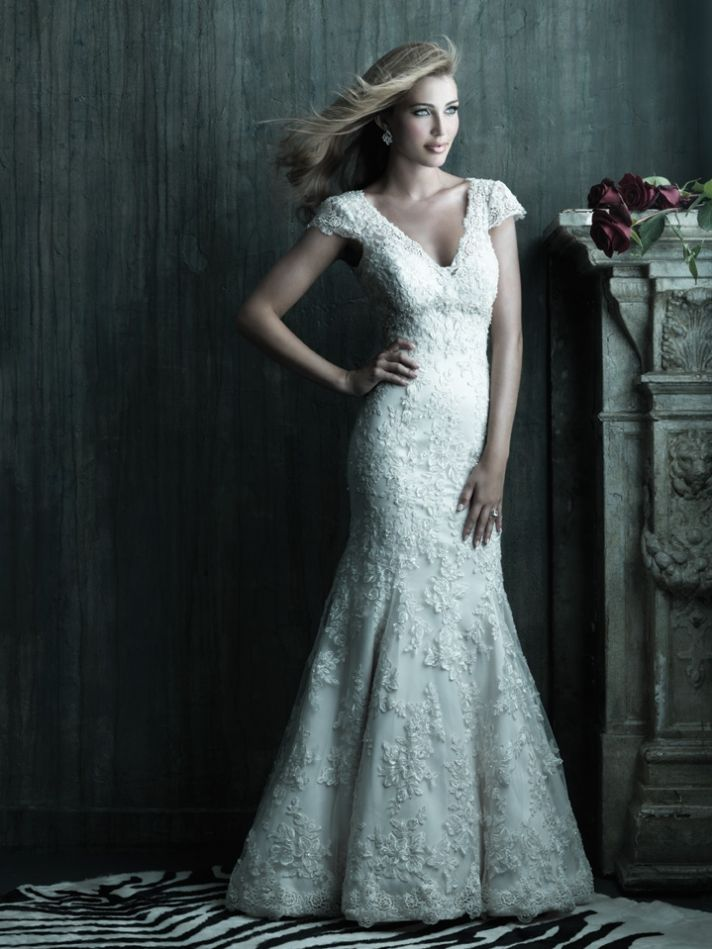 2013 wedding dress Allure Couture bridal gowns c207