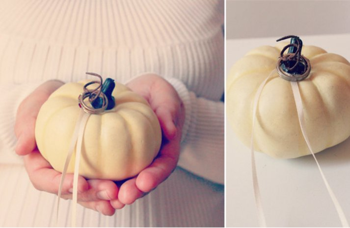 handmade wedding finds for fall weddings ring bearer pillow alternatives