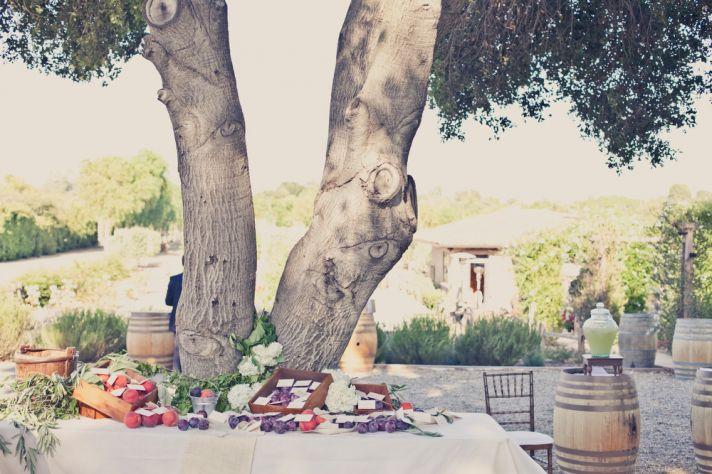 elegant real weddings lavender peach wedding colors unique escort cards