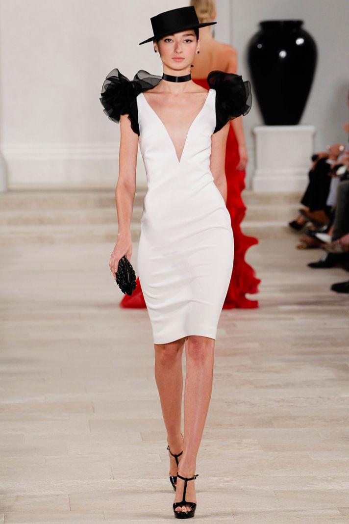 catwalk to white aisle wedding style inspiration for brides New York Fashion Week Ralph Lauren 2