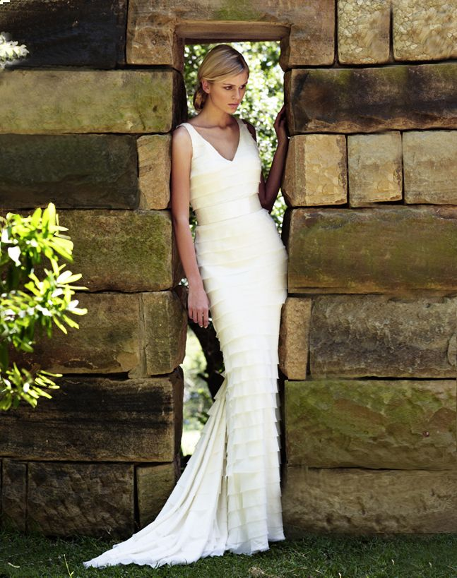 Out Of Africa Wedding Dress Chic
