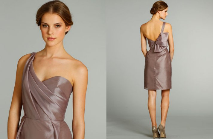 bridesmaids dresses for stylish bridal parties Alvina Valenta from JLM Couture mauve shimmer