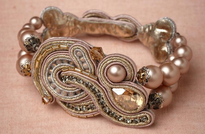 bhldn bridal bracelet vintage inspired
