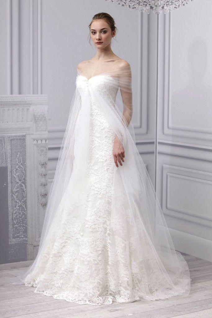 spring 2013 bridal gowns Monique Lhuillier wedding dress