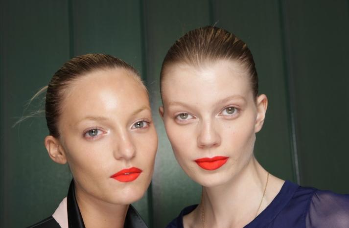 bridal beauty inspiration London fashion week wedding makeup ideas paul smith 2