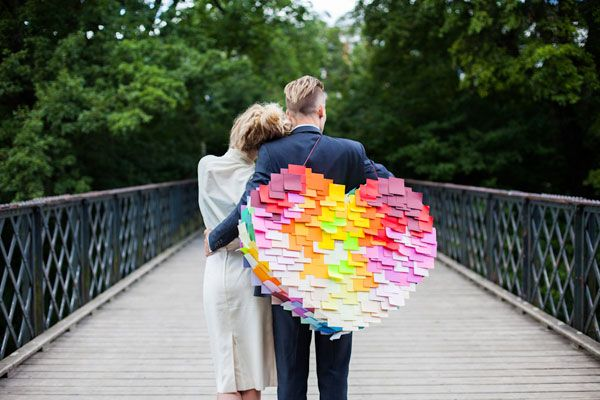 5 easy wedding DIY projects Brooklyn Bride 1