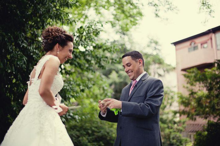 Kansas City wedding first look