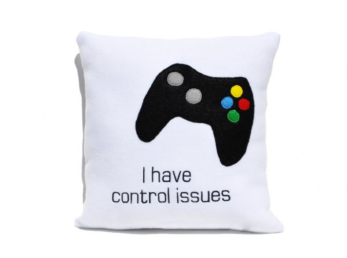 funny gifts for groomsmen gamer pillow OneWed.com