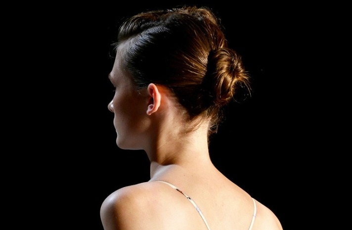 bridal updo wedding hair inspiration fashion week suno 3