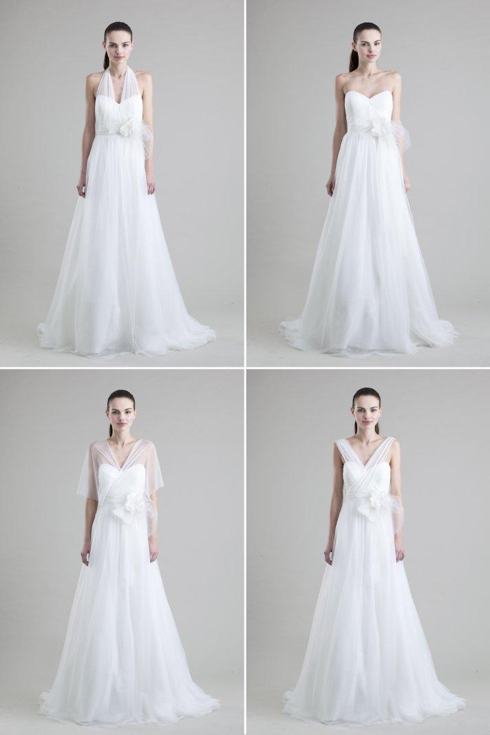 convertible wedding dresses by Jenny Yoo 2013 bridal Hathaway