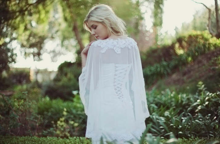 beautiful bridal boleros to top a simple wedding dress sheer cape
