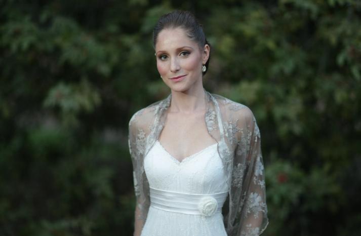 beautiful bridal boleros to top a simple wedding dress sheer taupe