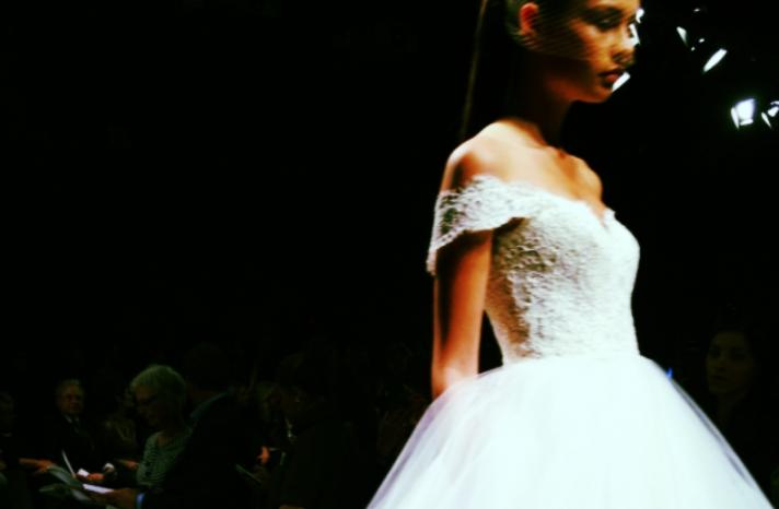 spring 2013 wedding dress bridal runway instagrams 1
