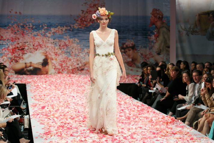 2013 wedding dress by Claire Pettibone An Earthly Paradise bridal collection Promise