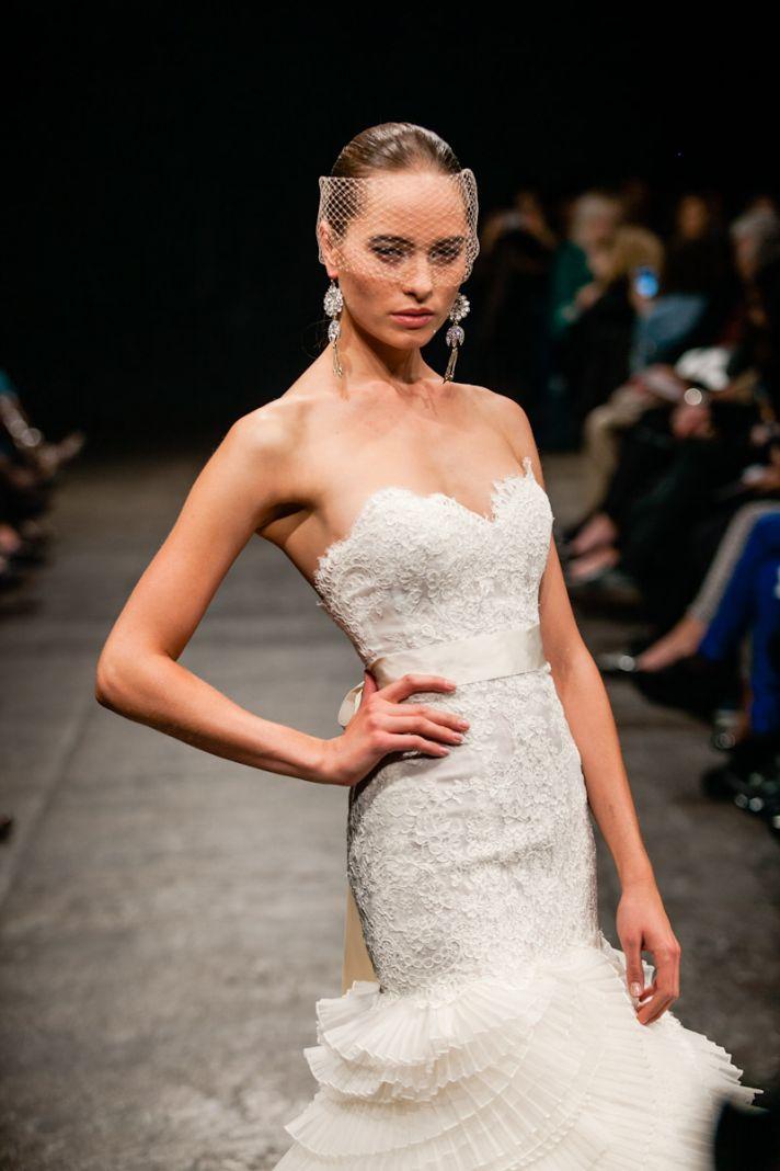 Spring 2013 wedding dress Lazaro bridal gowns 3308