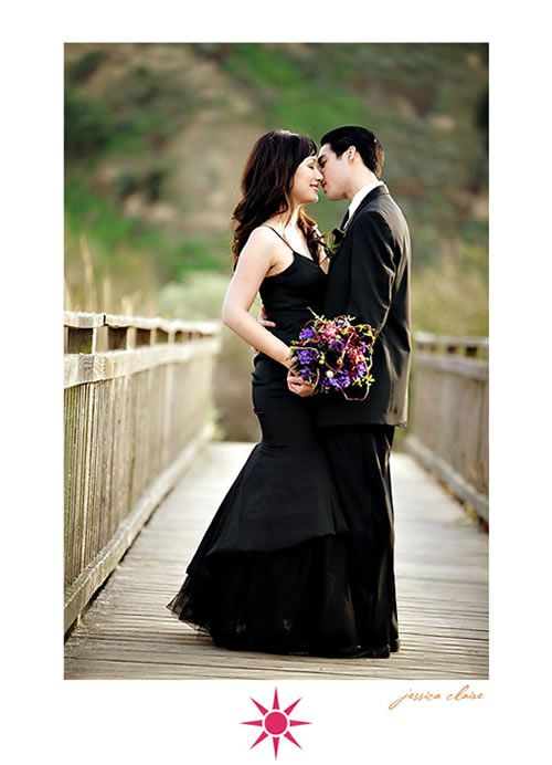 married in black