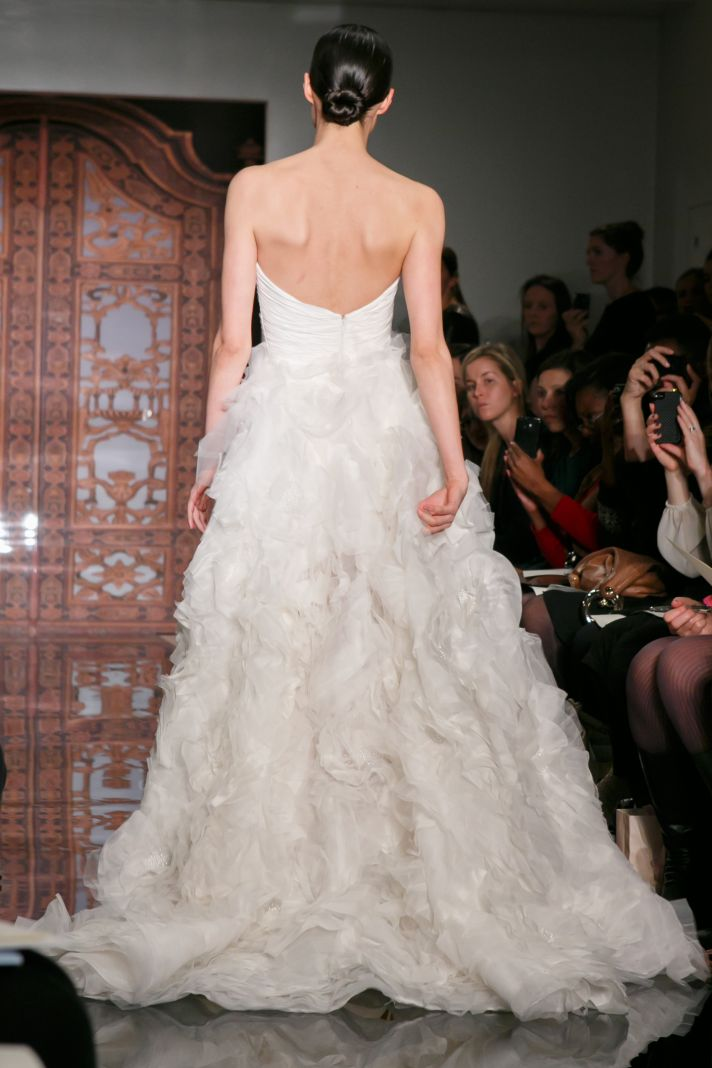 Reem Acra wedding dress Fall 2013 bridal Iselina You Belong To Me