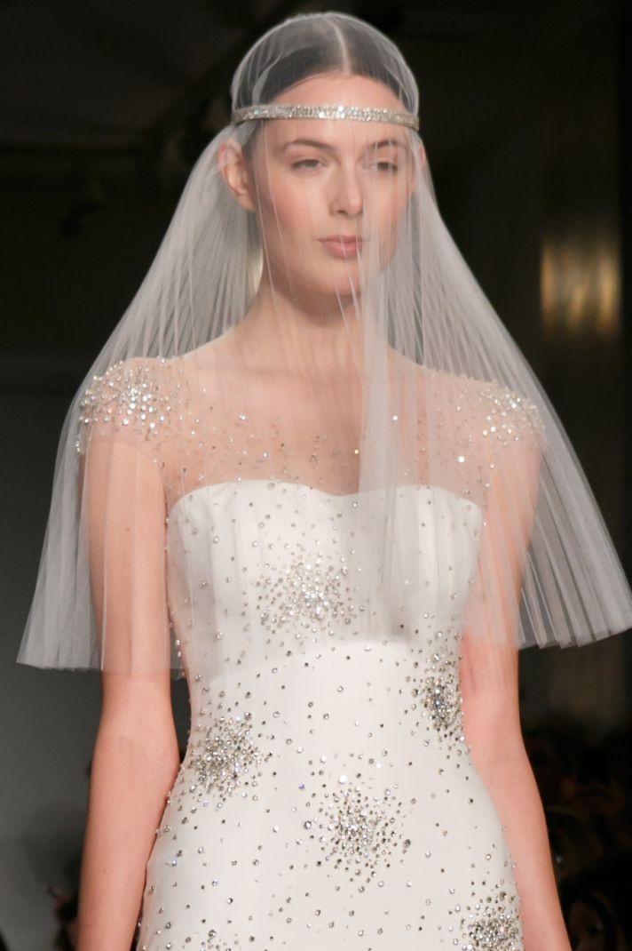 Reem Acra wedding dress Fall 2013 bridal Sadie Super Star fd