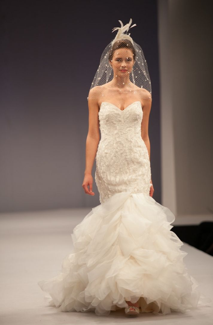 Anne Barge wedding dress Fall 2013 bridal Angelique