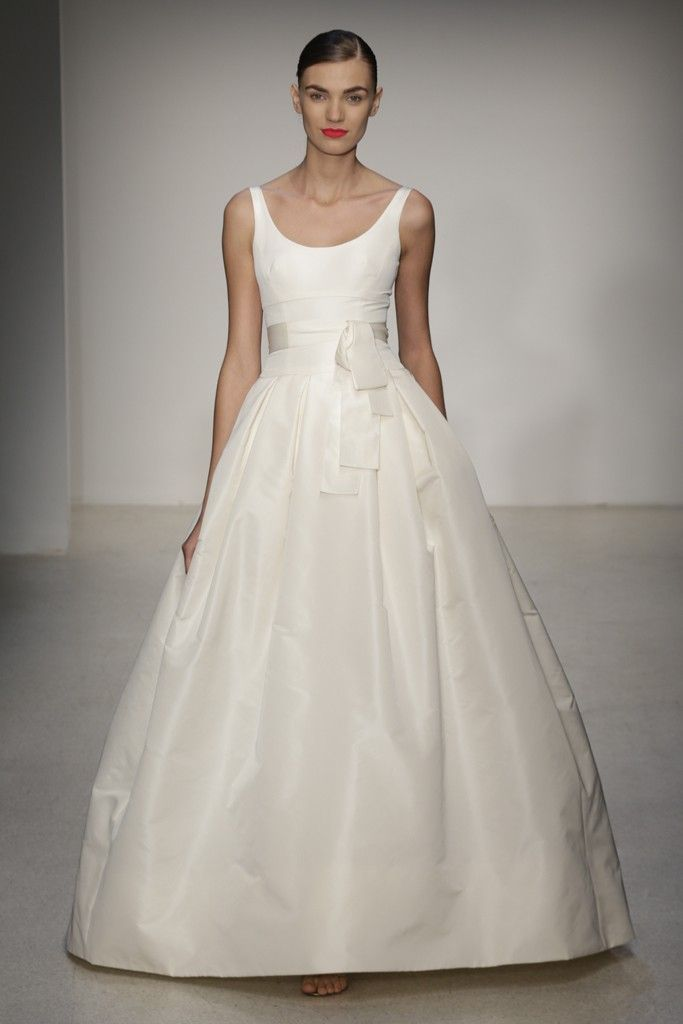 Fall 2013 Wedding Dress by Amsale timeless bridal style 7