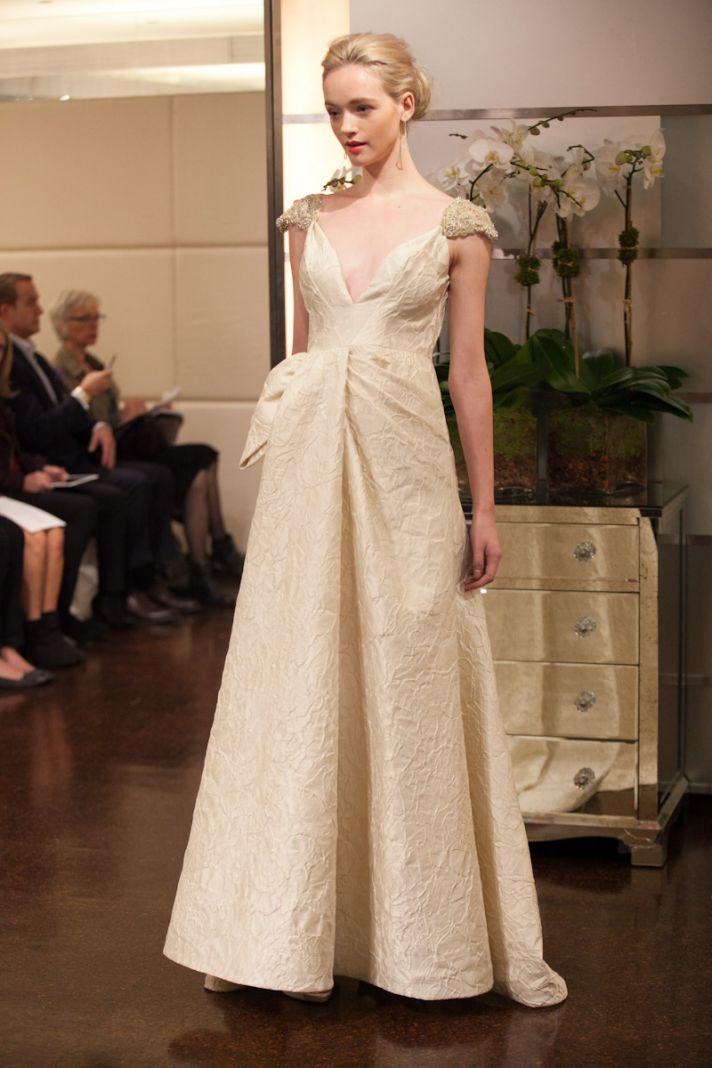 Fall 2013 wedding dress Badgley Mischka bridal gowns Ariel 2