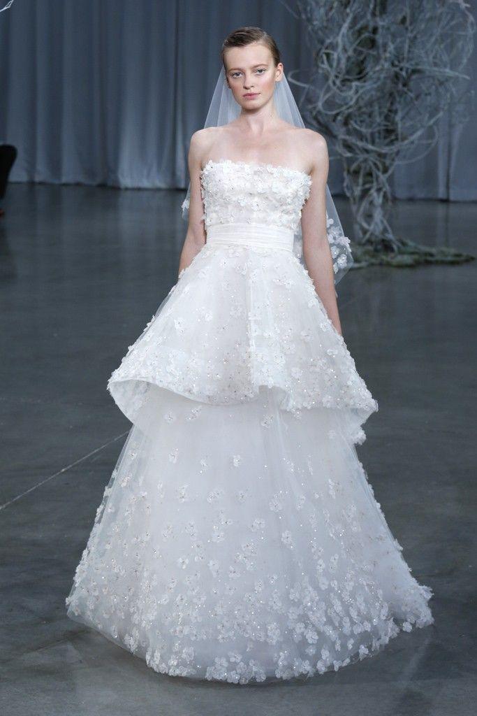 Fall 2013 wedding dress Monique Lhuillier bridal gowns Crescendo