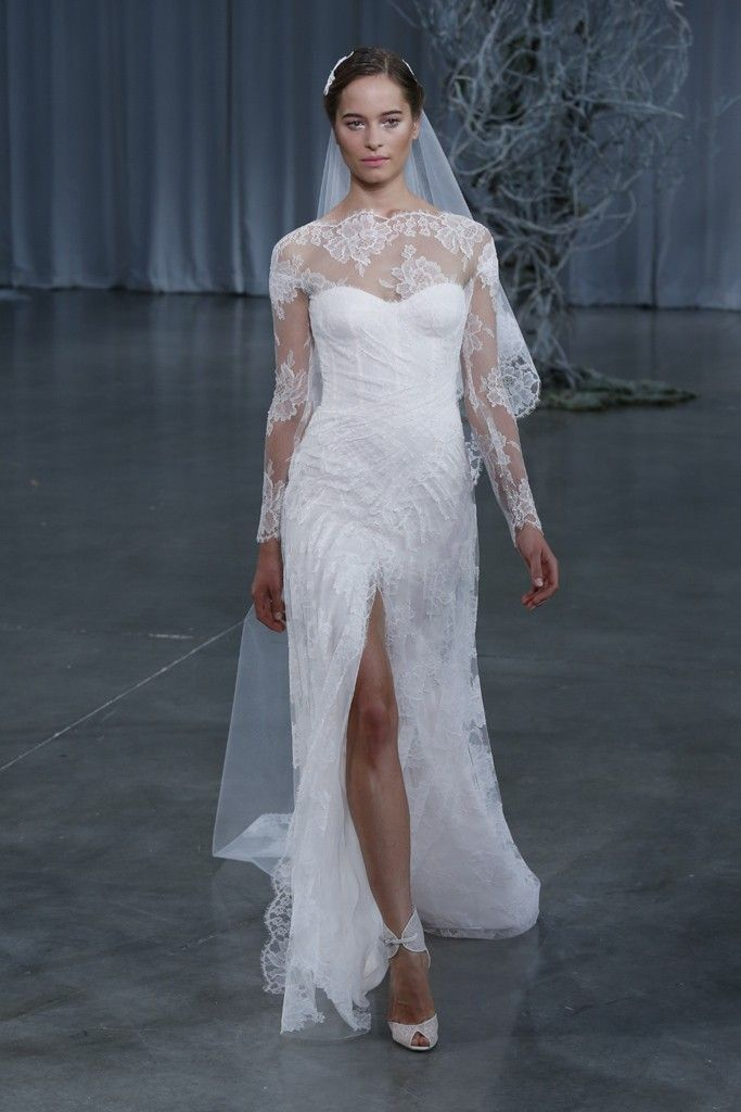 Fall 2013 wedding dress Monique Lhuillier bridal gowns Kayla