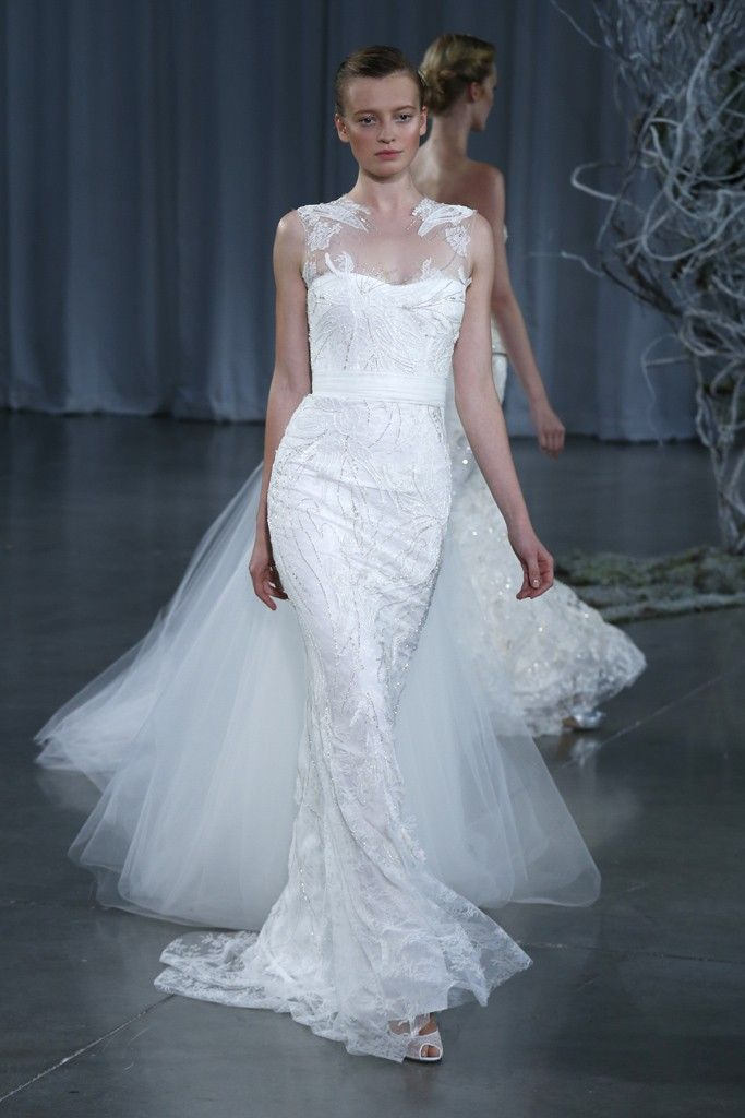 Ice Blue Wedding Gown