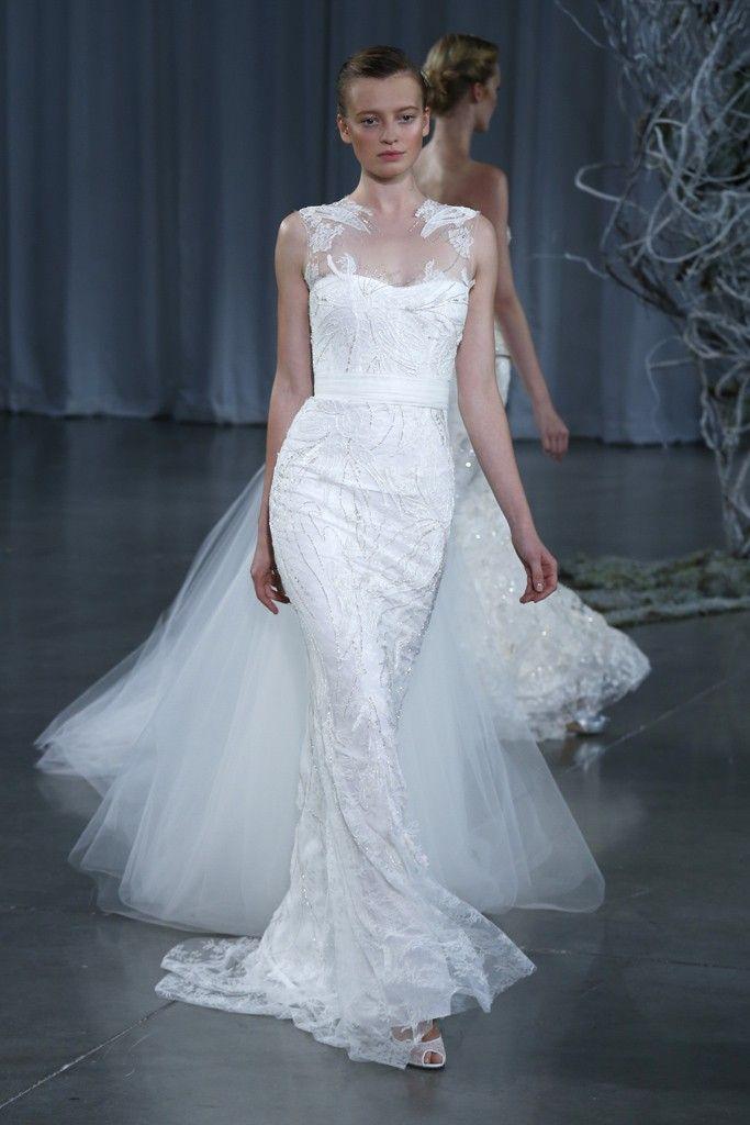 Fall 2013 wedding dress Monique Lhuillier bridal gowns Renoir