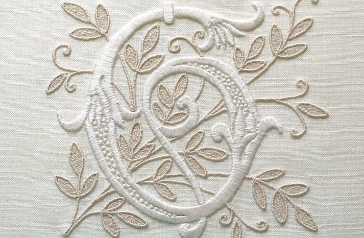 Handmade Weddings How to style a romantic winter wedding custom monogram