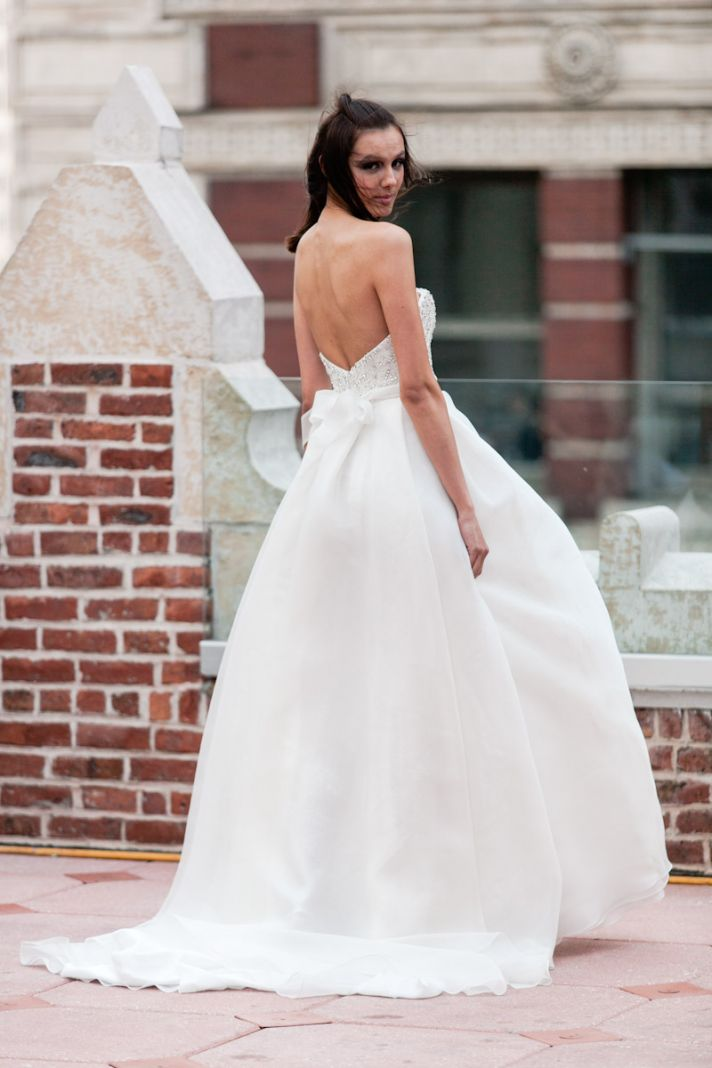 Fall 2013 wedding dress Anne Bowen bridal gowns Delmare