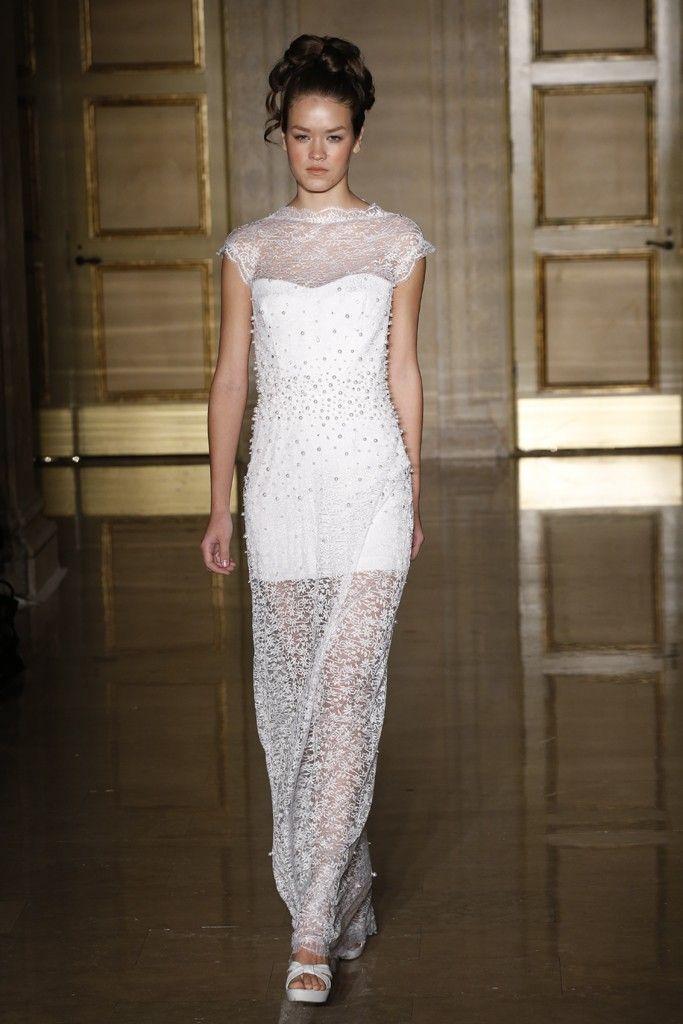 Fall 2013 wedding dress Douglas Hannant bridal gowns 5