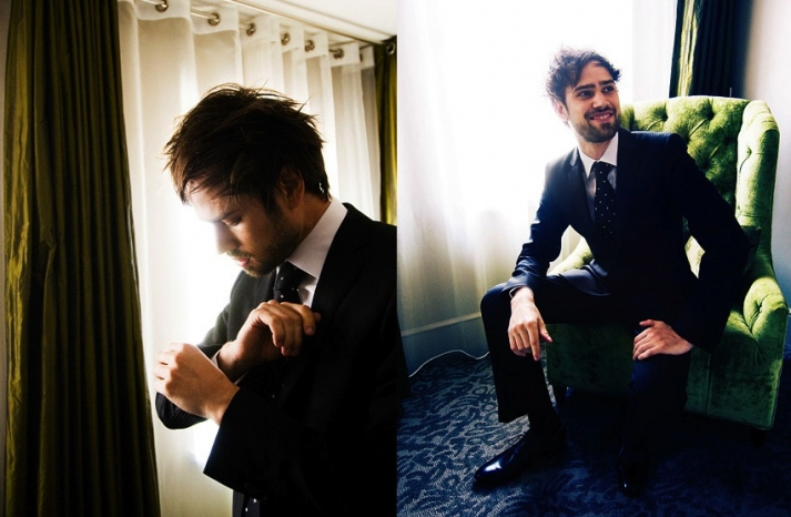handsome hairstyles for grooms and the men in weddings edgy