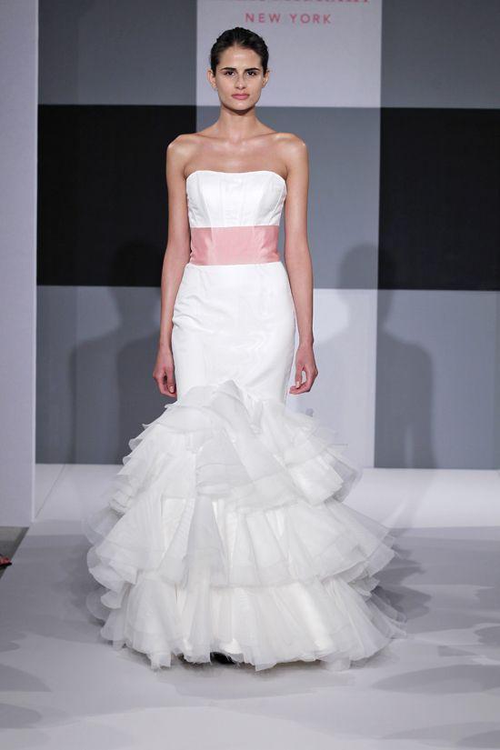 Spring 2013 wedding dress Isaac Mizrahi Spring 2013 bridal 15