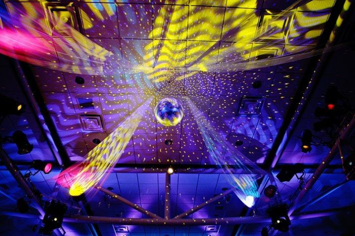 disco ball wedding couture events by lottie