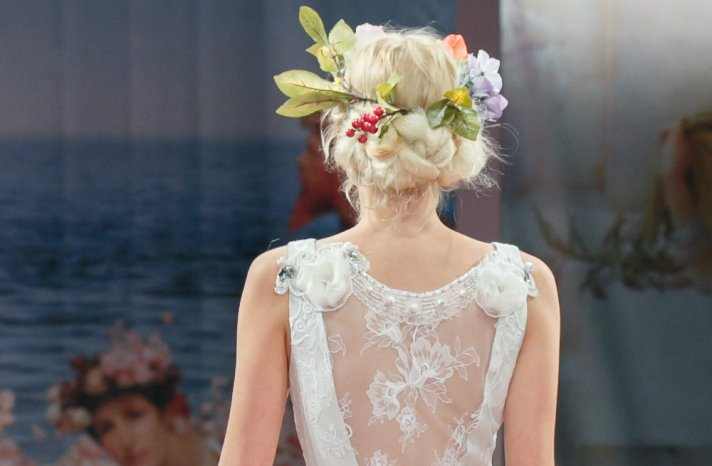 Wedding Hairstyle Trends Report Fall 2013 Bridal Claire Pettibone 1
